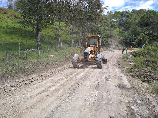 El alcalde de la Municipalidad provincial de Rodríguez de Mendoza informa los compromisos asumidos por Provias Nacional