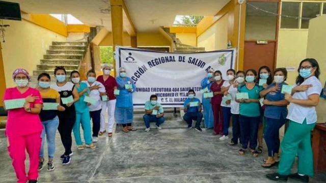 Amazonas: Establecimientos de salud lideran campaña de vacunación anticovid