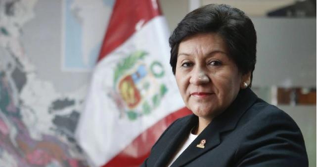 Susana Vilca será la nueva titular del Ministerio de Energía y Minas