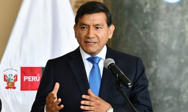 Ministro Morán afirma que Mininter ha activado alertas en caso Gregorio Santos quiera salir del país