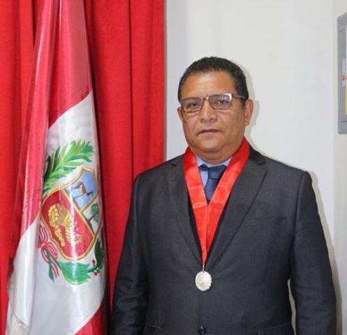Norberto Cabrera Barrantes juramenta como Presidente del Jurado Electoral Especial de Chachapoyas