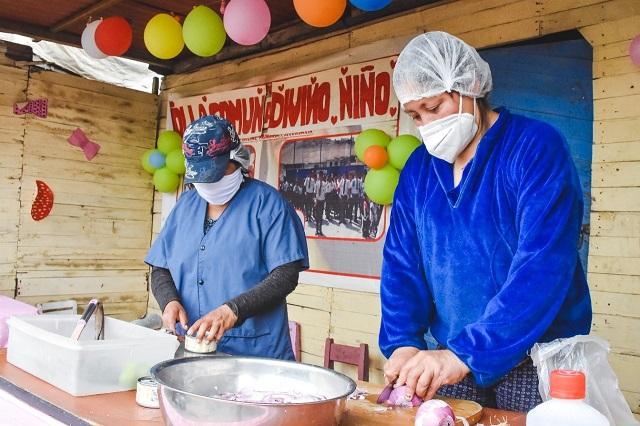 Midis a través de Qali Warma entregará más de 2600 toneladas de alimentos a gobiernos locales de Lima y el interior del país en favor de ollas com