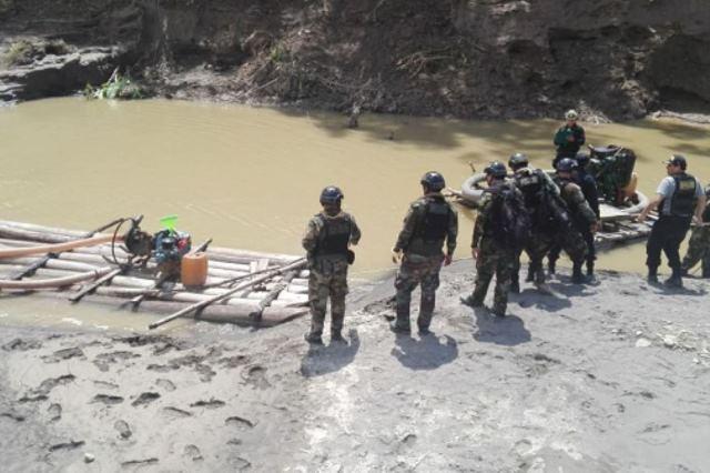 Autorizan intervención de FF AA para la lucha contra la minería ilegal en Condorcanqui