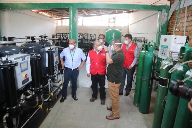 Ministro González anunció que 20 toneladas de oxígeno llegarán a Amazonas esta semana