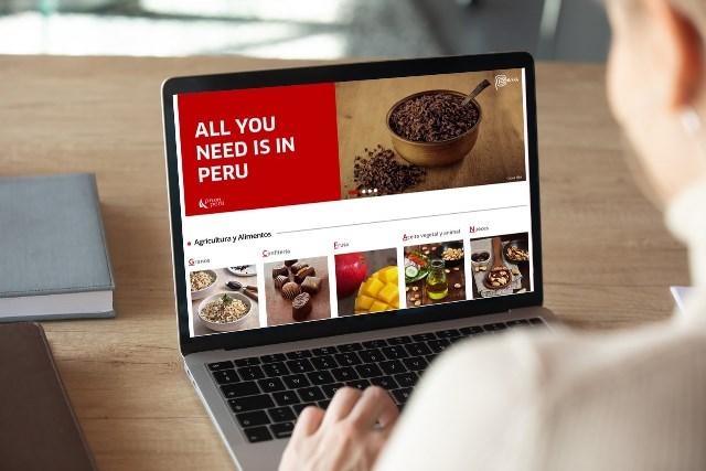 Perú lanza su primera plataforma comercial de venta de productos online al mundo