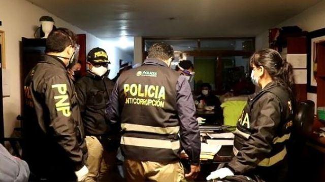 Policía desbarata organización que cobraba hasta 82 mil soles por cama UCI para pacientes con la COVID-19