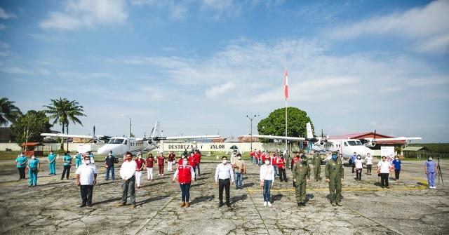 MIDIS reconoce labor de especialistas de PIAS Aéreas que están en primera línea de acción frente a COVID-19 en comunidades amazónicas