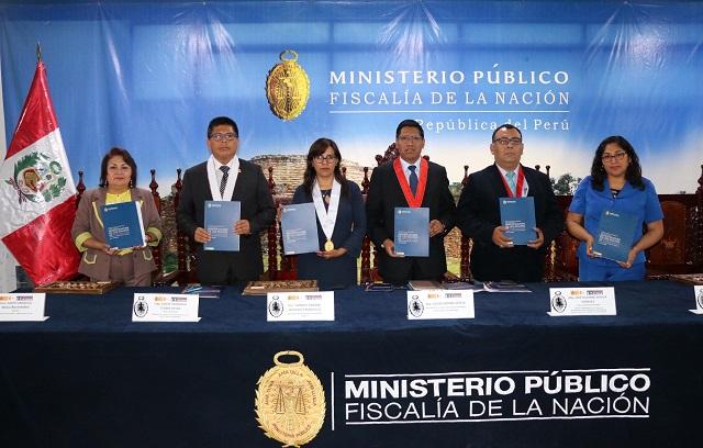 Ministerio Público presentó el protocolo para investigar feminicidios