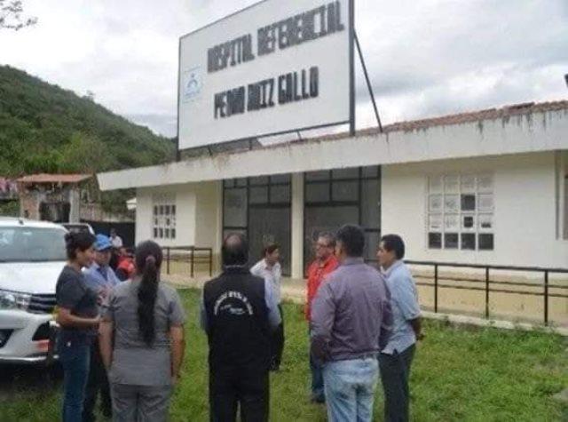 Autoridades de Jazán no fueron atendidas por Ministro de Salud para que vean sobre hospital referencial de Pedro Ruiz Gallo