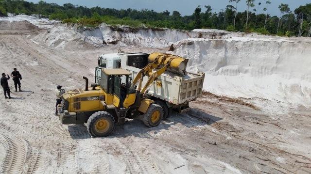 Emiten la primera sentencia con pena de cárcel por minería ilegal
