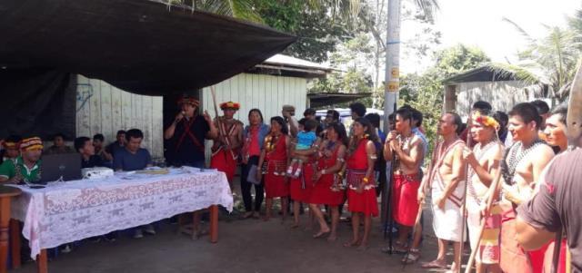 Shimpiyacu exige atención urgente contra extorsión y tráfico de tierras