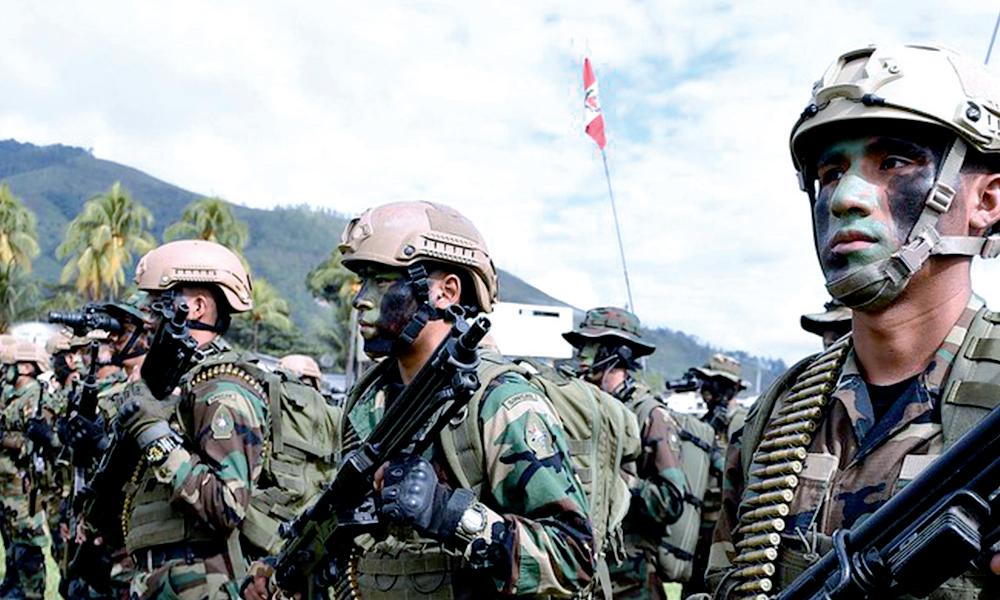 """""""Los Sinchis"""" llegan para combatir delincuencia Como parte del plan Fortaleza"""