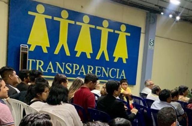 Transparencia: Delitos de corrupción deben incluirse en impedimentos para postular
