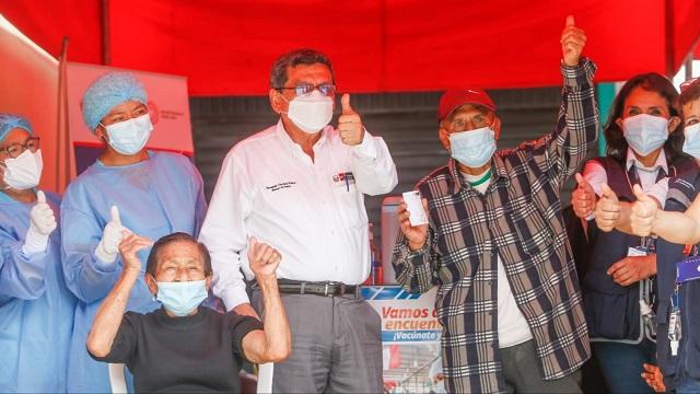Diris Lima Centro: Más de 46 000 mayores de 80 años pueden vacunarse contra la COVID-19 este fin de semana