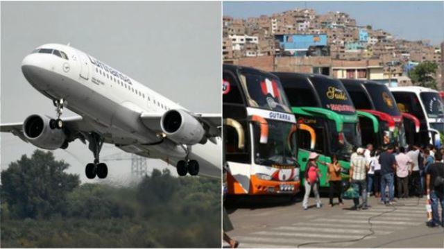 ¿Cuándo reiniciarán los vuelos nacionales y los viajes interprovinciales?, esto dijo el MTC