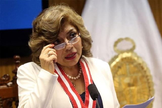 Zoraida Ávalos asume cargo de fiscal de la Nación de manera interina