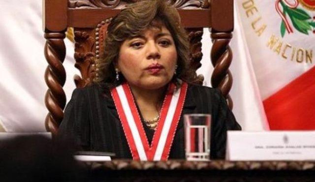 Zoraida Ávalos, Fiscal de la Nación interina, declara en emergencia el Ministerio Público