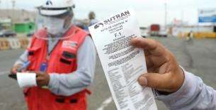 Transporte informal: SUTRAN impuso más de 1800 actas por infracciones en todo el país