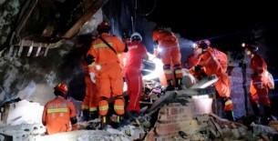 Terremoto en China deja 11 fallecidos y centenar de heridos