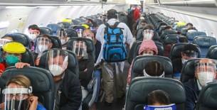 Pautas para evitar el contagio del Covid-19 en los vuelos nacionales