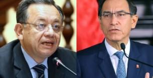 Martín Vizcarra se acoge a su derecho al silencio en Comisión de Fiscalización