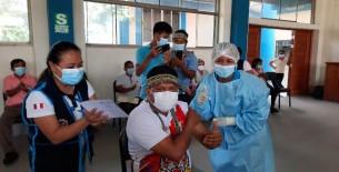 Minsa capacitó a líderes comunales de Alto Amazonas sobre la importancia de la vacuna contra la COVID-19