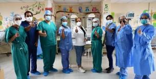 INSN – Breña: la inquebrantable labor de los Anestesiólogos Pediátras durante la pandemia por covid-19