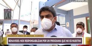 Piden citar a ministro Martín Benavides a la Comisión de Educación del Congreso