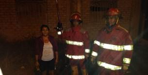 Bomberos de Utcubamba lograron controlar incendio en Bagua Grande