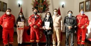 Otorgan pensión de gracia a deudos de bomberos héroes que fallecieron en incendio en El Agustino