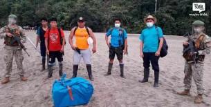 Guerreros de la Salud caminaron tres días llevando la vacuna a la Microred Wayampiak