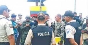 Fiscal detiene a 11 extranjeros realizando minería ilegal en la frontera con Ecuador