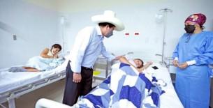 Presidente Castillo: el país se cambia trabajando, al lado de población y no con un tuit
