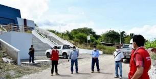 Gerente sub regional Bagua visitó la II Etapa de la Puesta en Valor Turístico de la zona arqueológica Casual