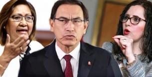 Vizcarra vuelve a confrontar al Congreso; Bartra y Choquehuanca le responden que