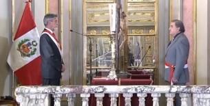 Cluber Fernando Aliaga Lodtman es el nuevo ministro del Interior