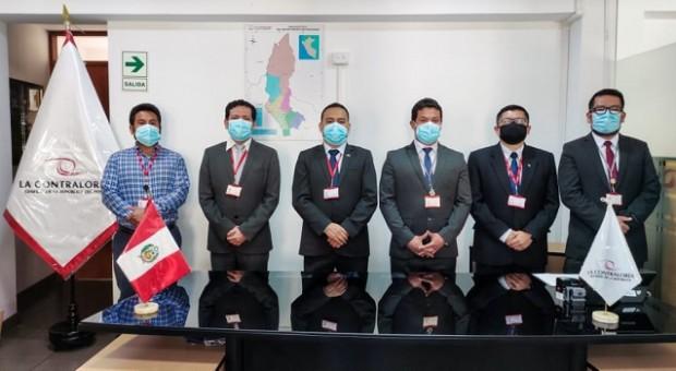 Contraloría designa nuevos jefes de OCI en 5 entidades públicas de Amazonas