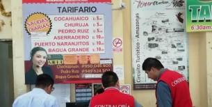 Contraloría advierte riesgos en servicio de terminal terrestre Municipal de Chachapoyas