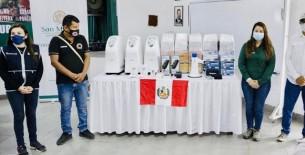 Minsa entrega equipos médicos y materiales para la atención y prevención de la COVID-19 en la región San Martín