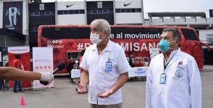 EsSalud reúne cerca de 5000 unidades en sangre en cruzadas de solidaridad realizadas en Centros Comerciales y Supermercados