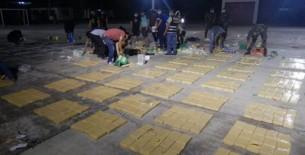 Narcotraficantes intentaron sacar del país 2.2 toneladas de cocaína en cajas exportadas de mascarillas