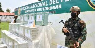 Policía Nacional decomisó más de 850 kilos de droga en el Vraem en solo 10 días