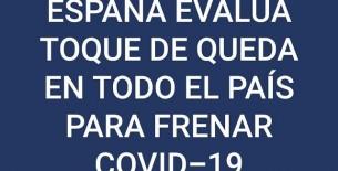España puede seguir los pasos de Francia y decretar un toque de queda para frenar el avance de la segunda ola del Covid-19 en Europa