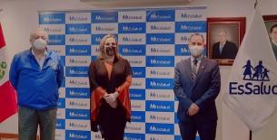 Más salud para los amazonenses, indica Absalón Montoya