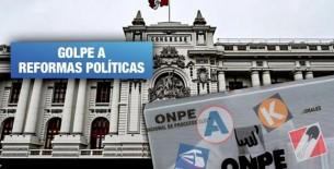 ¿Qué buscan algunas bancadas del Congreso al suspender elecciones primarias?