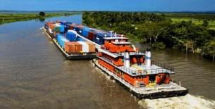 Hidrovía Amazónica: identifican hasta 33 zonas críticas para el dragado de ríos