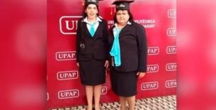 Madre ingresó a la universidad para ayudar a su hija no vidente: Ni mi edad ni mi salud impedirán que la apoye