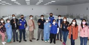 Villa ESSALUD Huaraz es construida en 20 días para atender pacientes covid-19