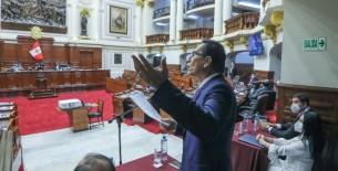Congreso aprueba informe que recomienda inhabilitar a Vizcarra