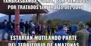 Se estaría entregando parte del territorio amazonense a la región de San Martín en la zona de Alto Nieva de Yambrasbamba